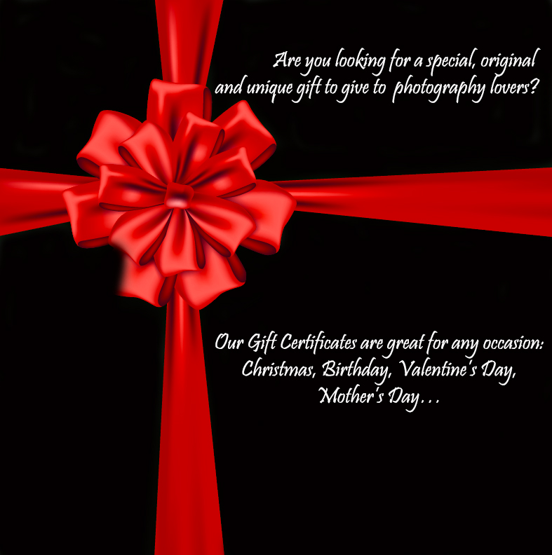 gift certificate new website